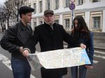 With friends in Yaroslavl', Russia