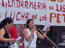 ACTO EN DEFENSA DE LOS TRABAJADORES DE LAS HERAS