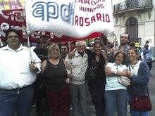 5ª MARCHA POR LA APARICION CON VIDA DE JULIO LOPEZ