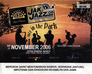 JakJazz Ticket - Priceless