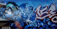 Arte Criminal ... Bombardeando la ciudad