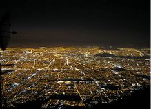 La ciudad de Santiago respirando...