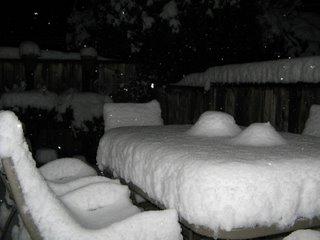 deck last night