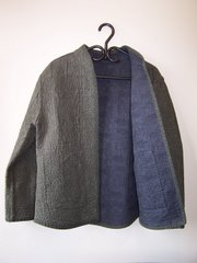 Saf-T-Pockets, Rochelle's Reversible - Stippled Jacket