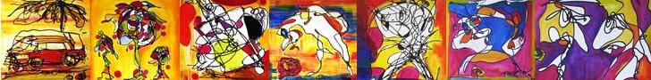 """Regia""""s paintings banner"""