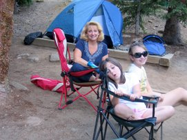 Camping at Echo Lake
