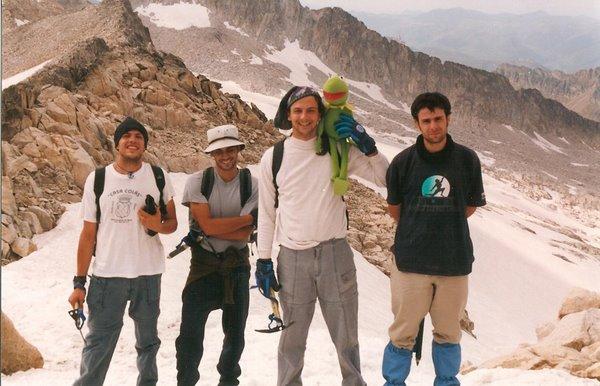 Ascension al Aneto (3404m) Agosto de 2001