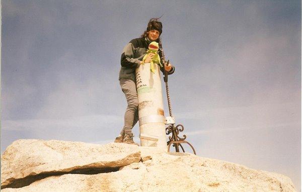 Cima del Almanzor (2500 m) Mayo 2005