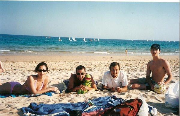 Isla de Tavira. O Algarve, PORTUGAL. Abril 2002