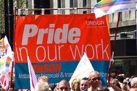UNISON at Pride