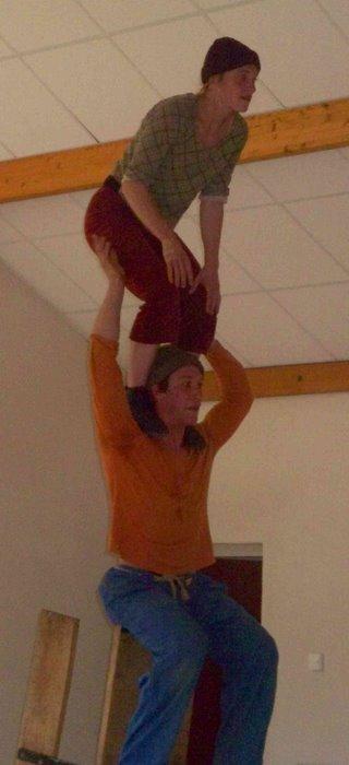 Le spectacle avec l'école de cirque TURBUL'