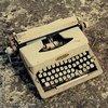 A máquina de escrever