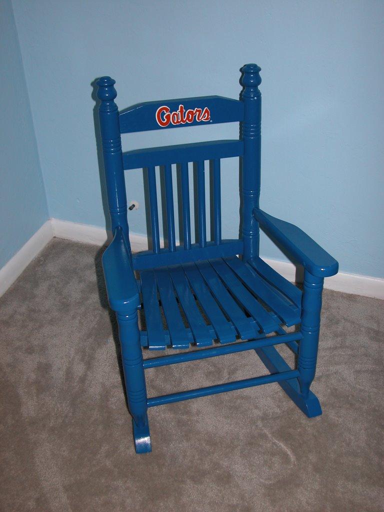 High Quality Childu0027s FL Gator Rocking Chair