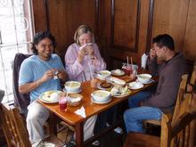 Family reunion in Bogotá