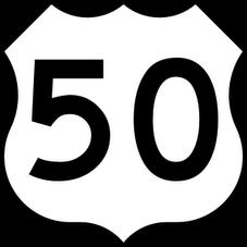 US Higway 50