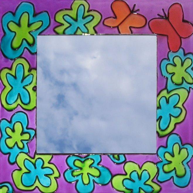 Espejo florido