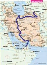 Du 20 avril au 5 mai : Du golfe persique à la mer Caspienne