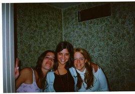 Con mis amigas del alma Andre y Leti (la rubia soy yo...)