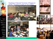 Teaching the Knowledge in Singapore (NUS):
