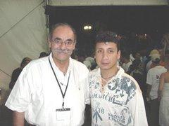 Lucho Jiménez con Horacio Serpa