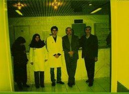 د/ جمال عبد السلام فى ايران اثناء زلزال بام