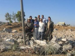 د/ جمال عبد السلام فى فلسطين