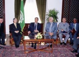 د/ جمال عبد السلام مع عمرو موسى