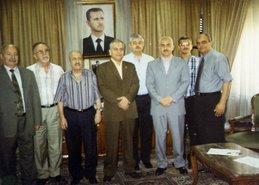 د/ جمال عبد السلام فى سوريا