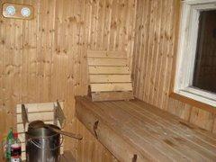 Gräsö. Sauna sueca en Kallboda
