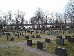Grässö. Cementerio