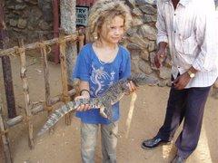 Mano et le crocodile