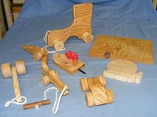 Toys from scrap wood