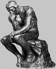 The Thinker Himself