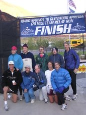 2005 Outward Bound Relay Team