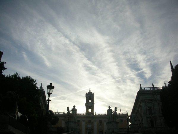 """FOTO: Roma - Campidoglio """"chimico"""": 29 ottobre 2006: domenica """"ecologica"""" ?"""