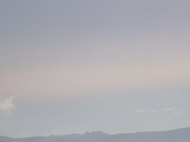 ¿dónde está el horizonte?