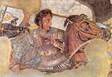 Hans riding a horse