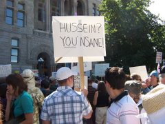 Hussein? YOU Insane!