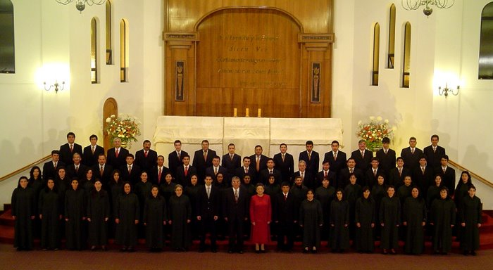 CORO POLIFÓNICO Iglesia Evangélica Pentecostal de VIÑA DEL MAR - 2007