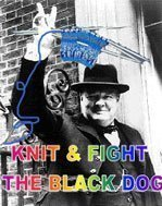 Knit and Fight the Black Dog