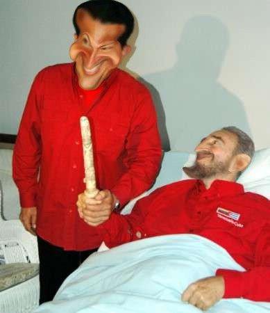Chavéz e Fidel