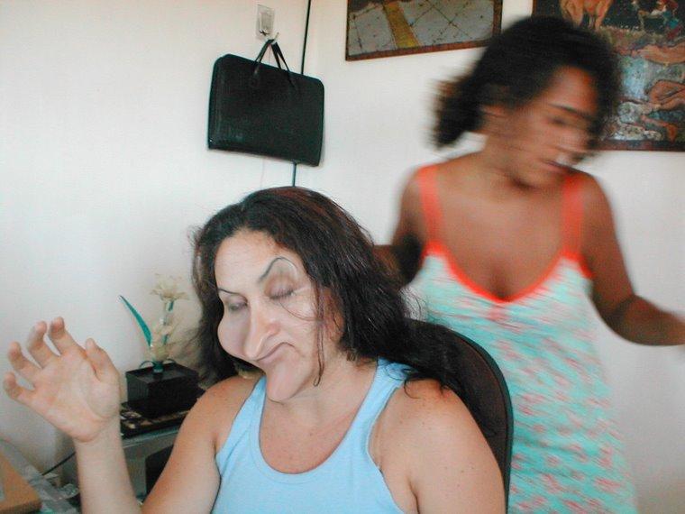 Claudinha e Marcia Manifestadas