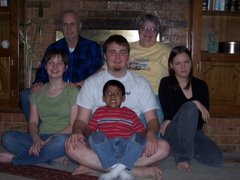 Grandparents with some of the Grandkids