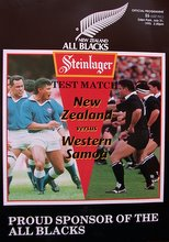 Manu Samoa vs All Blacks, 1993