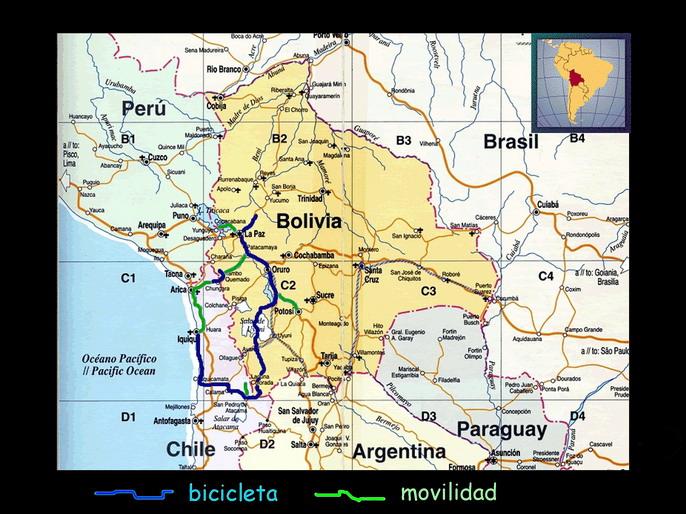 bOLIVIA Y NORTE DE CHILE