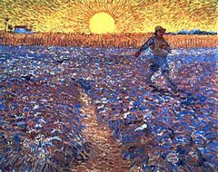 El sembrador Van Gogh
