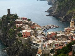 Here are some favorite pictures from our travels.  This is Cinque Terre, Italy