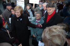 Meeting Cindy Sheehan in 2006