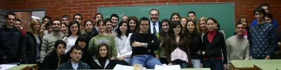 Alumnos 2007, Clase profesor Cocca