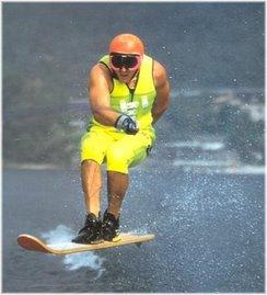 Un ídolo: Stefano Gregorio, el mejor esquiador de todos los tiempos.